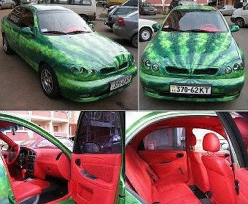 Thewatermeloncar
