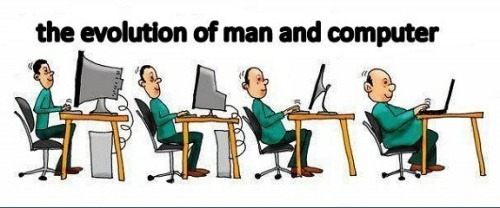 The-Evolution-Of-Man-And-Computer