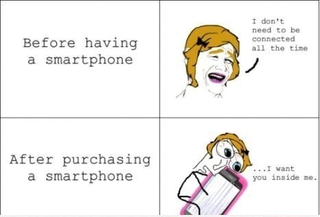 How-Girls-React-After-Purchasing-A-Smartphone